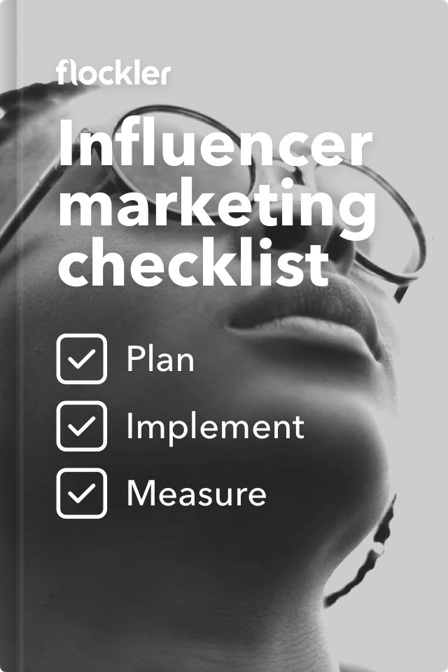 Cover of Influencer Marketing Checklist book