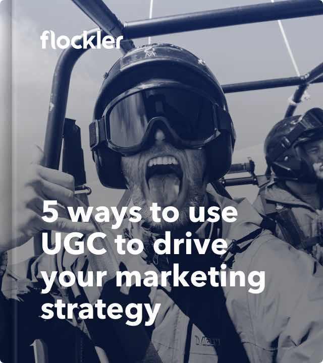 Cover of 5 ways to use UGC to drive your marketing strategy