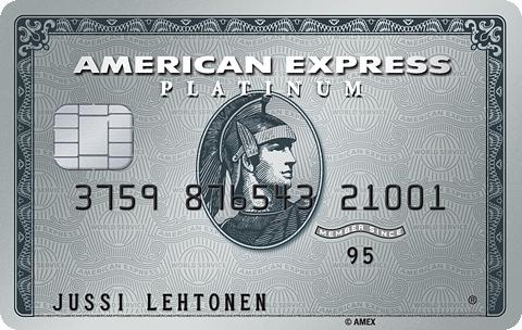 American Express Platinium -kortti