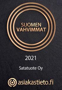 Suomen vahvimmat 2021 — asiakastieto.fi