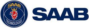 Logo: Saab – Innovaatioita Suomen puolustus- ja turvallisuushaasteisiin